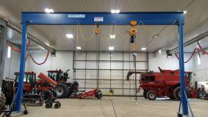 Gantry Crane Acculift overhead crane winnipeg, regina, saskatoon, moose jaw, brandon
