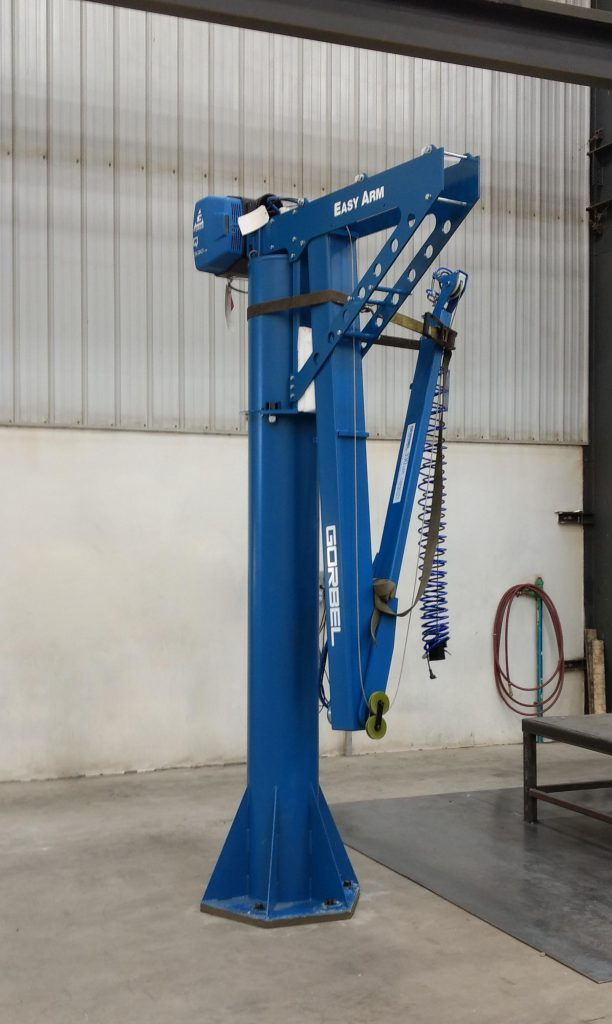 mulit-arm jib crane easy arm from gorbel