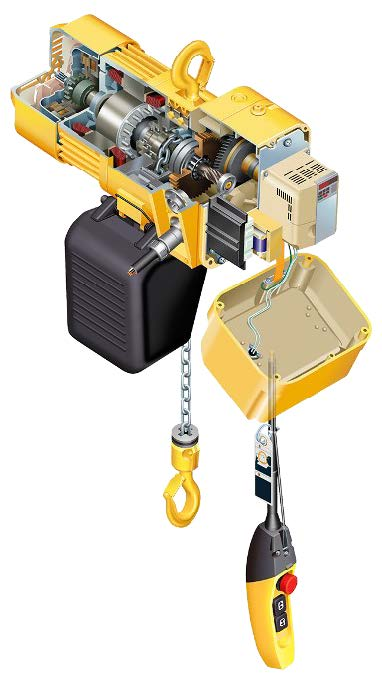 hoist diagram inside components long lasting
