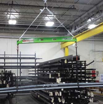 plastic lifting beams composite material steel alternative non-conductive acculift Regina, Saskatchewan