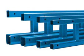Gorbel enclosed track truss trussed end points