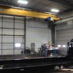 IronMen building support column 5 ton crane with hoist winkler