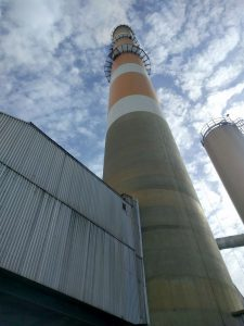 load test on saskpower tower coal plant