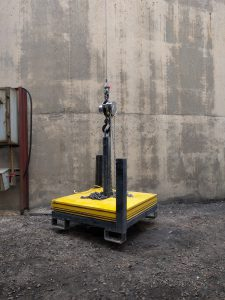 load test weights for crane tests testing deflection