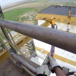 the highest wall mounted jib crane in saskatchewan?