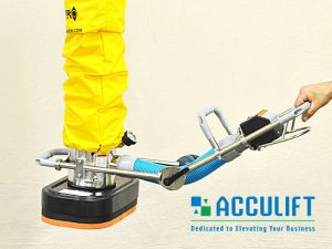 articulating handle vacuum bag lifter