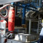 concrete production crane lifting equipment