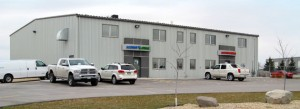 warehouse head office winnipeg manitoba canada industrial Acculift