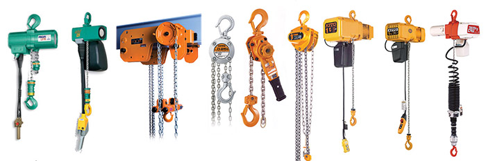 hoists variety types differences benefits