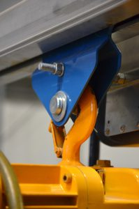 Hoist trolley with hoist hook overhead crane parts