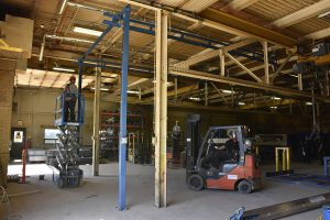 acculift crane removal teardown safe work, relocation and moving of crane systems