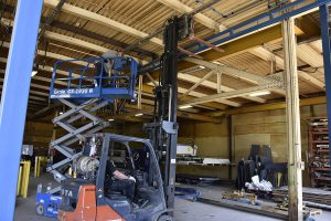 teardown and moving of acculift crane install New installs. Relocations. Upgrades and retrofits. Certified inspection