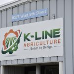 head office logo kline agriculture north dakota lifting cranes