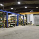 acculift large span overhead crane manufacturer north dakota lifting cranes