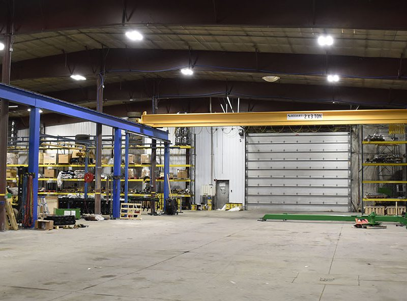 ag manufacturing lean installation acculift lifting equipment