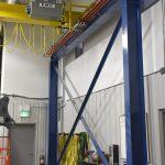 acculift Columns 5 ton crane emh electrical festooning bridges