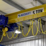 acculift Hoist 5 ton beam bridge in regina saskatchewan
