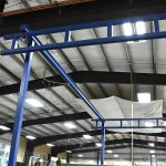 high columned crane for maximum lift acculift solution
