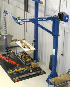 elbow arm bend crane post crane swing arm