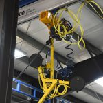 Glass Vaccuum lifter acculift solutions tri-pad rotater