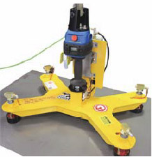 plate steel lifter technology end effector