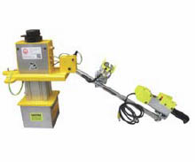 sheet steel picker mover reach extended lift