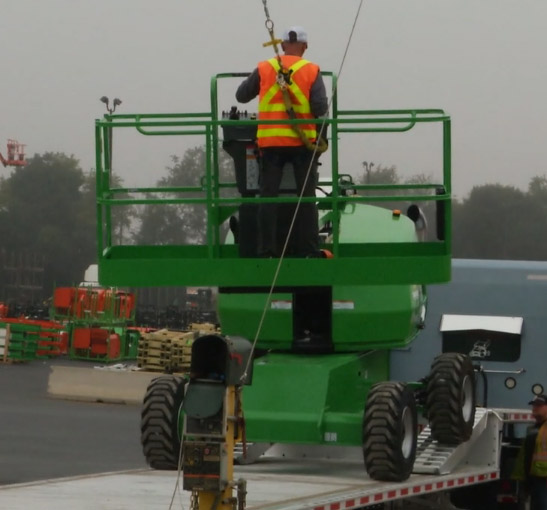 fall prevention equipment in Canada for truck loading
