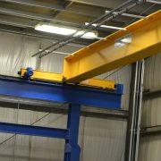 end truck on an overhead crane